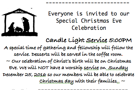 christmas eve service screen shot 2016 12 20 at 9 47 - When Is Christmas Day 2016