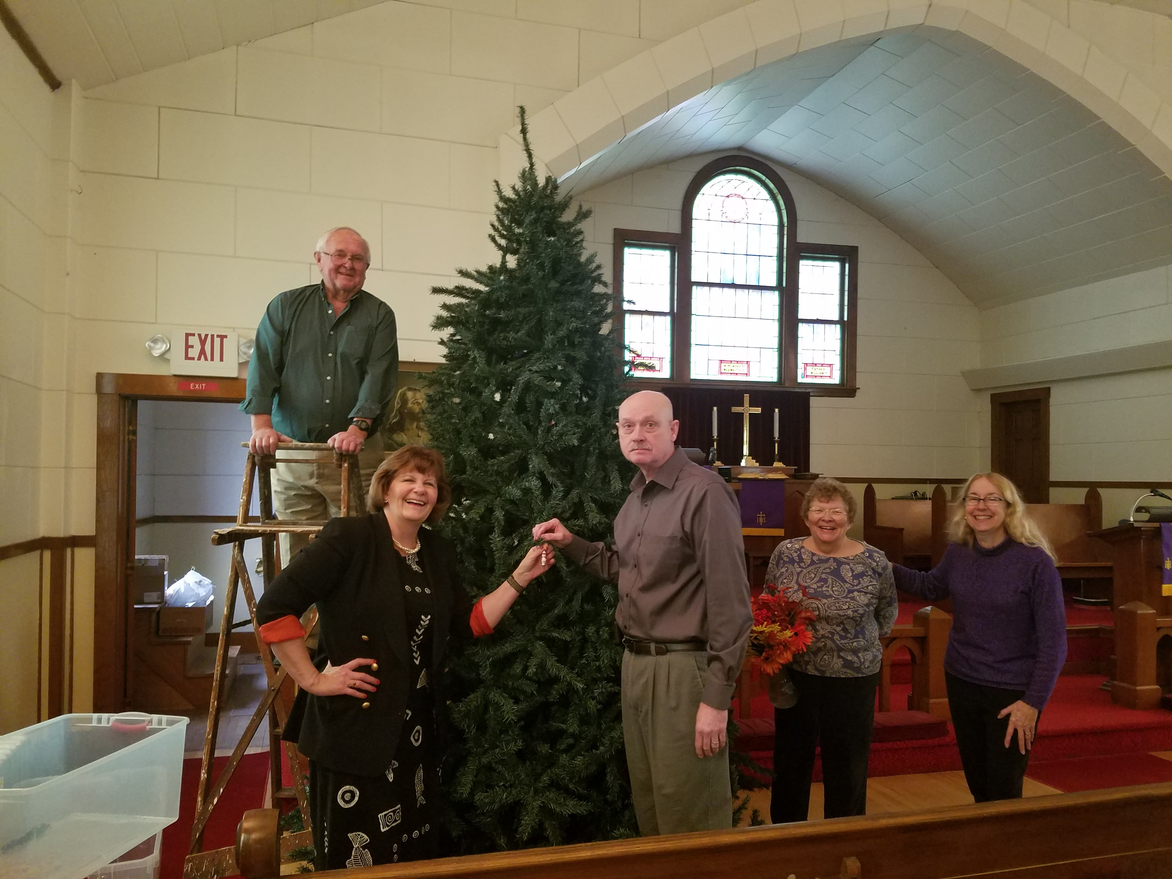 Cheristmas tree assembly 2 2019